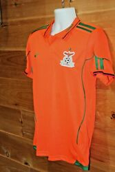 Nike Zambia National Football Youth Large Men's Small Soccer Jersey Chipolopolo