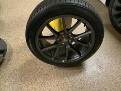 2021 18 Tesla Model 3 Factory Oem Tires, Rims, Tpms, Caps And Lug Covers