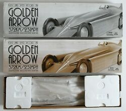 Schylling Golden Arrow Wind Up 1929 Land Speed Record Car Model New In Box 2004