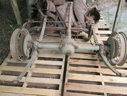 1930 1931 Chevrolet Car - 1/2 Ton Pick Up Rear Axle Assembly Oem