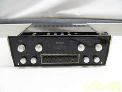 Mcintosh C28 Vintage Stereo Preamplifier C-28 Mm Phono 1/0 Good Condition