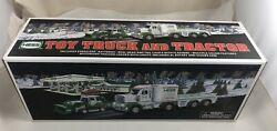 2013 Hess Toy Truck And Tractor Mint In Box Mib Holiday Toy Truck