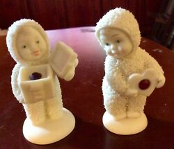 Snowbabies Special Delivery And A Gift For You July Birthstones