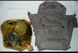 Wwii Us Navy Mark Iv Gas Mask Unissued Original Ww2 Issue Excellent 1944