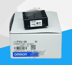 P3g-08 Omron Socket Timer Relay Brand New Fast Shipping