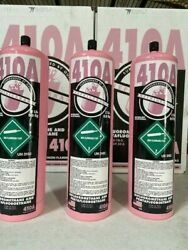 R410a Refrigerant 3 New Factory Sealed 6 Lbs. Free Same Day Shipping By 3pm
