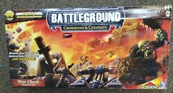 80 Pc Battleground Crossbows And Catapults Knights Vs Orcs War Chest Starter Set