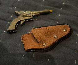 """Vintage Rr Roy Rogers Miniature Toy Cap Gun With Holster """"rare"""""""