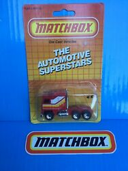 Matchbox Superfast 70s Kenworth Ceo Cabover Aerodyne Semi Truck Red Mb45
