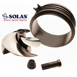 Solas Sea Doo Spark 2-up 3-up Impeller Sk-cd-12/17 W/ Wear Ring And Impeller Tool