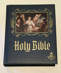 Masonic Master Reference Edition Family Bible By Heirloom Bible Publishers