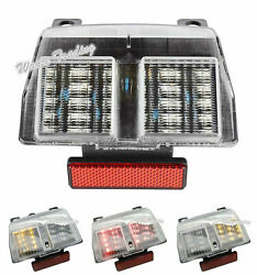 Taillight Tail Turn Signal Integrated Led Light Clear For Ducati 748 916 996 998