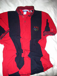 Vtg Embroidered Usa Olympic Team Champion 36usc380 Polo Jersey Shirt-nice- M/l