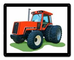 Allis Chalmers 8070 Tractor 15 Heavy Duty Usa Made Metal Farm Advertising Sign