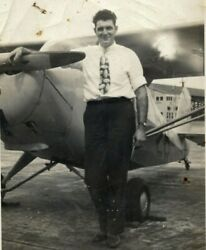 1950 Private Aircraft Sales Young Man Sells Airplanes Birmingham Alabama