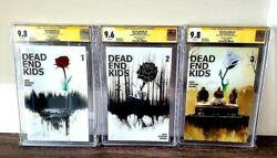 Dead End Kids 1-3 One Of A Kind Rose Set Is Painted With Ink And Acrylic🔥