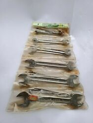 Vintage Stahlwille Open Ended Metric Spanners Wrenches From 70's-80's - Motor10