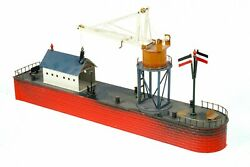 Ac1971 Original Tucher And Walther 00 Gauge Harbour / Jetty Facility T371