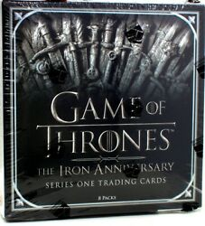 Game Of Thrones Iron Anniversary Trading Cards Series 1 10 Box Case Blowoutcards