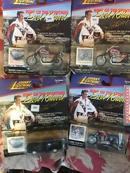Johnny Lightning Evil Knievel Motorcycles And Cars