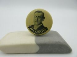 1912 Woodrow Wilson 7/8 Political Pinback Allied Printing Chicago