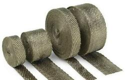 Cycle Performance Exhaust Pipe Wrap - 2in. X 100ft. - Metallic - Cpp/9053-100