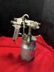 Vintage Devilbiss Type Mbc Air Spray With Can