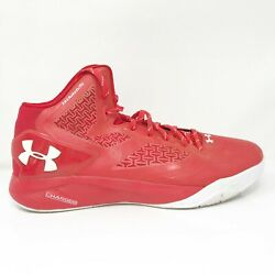 Under Armour Mens Clutchfit Drive 2 1258143 603 Red Basketball Shoes Size 15 $44.99