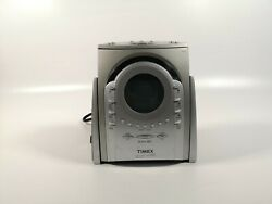 Timex T621t Nature Sounds Am/fm Radio Cd Player Alarm Clock Tested