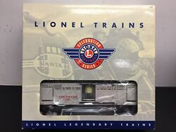 Lionel Lines 6-36703 3366 Operating Circus Stock Car And Corral Nib Sealed