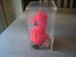 Ty Beanie Babies Mac The Cardinal Plush Toy Very Rare Errors With Tags