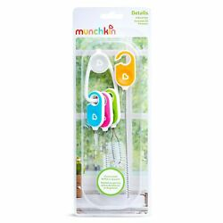 Munchkin Bottle And Cup Cleaning Brush 4 Piece Set With Key Ring