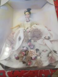 Lot Collection Venetian Opulence,antique Rose, Lily Limited Edition Barbie Dolls