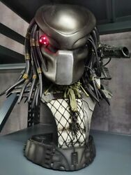 Exclusive Limited Edition Jungle Hunter Masked Predator Collectible Bust Statue