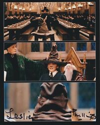 Leslie Phillips Hand Signed 8x10 Photo, Autograph, Harry Potter Sorting Hat