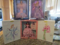 Lot Mixed 6 Collection Barbie Dolls More