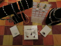 Lot Mixed Ross Simons 14k Gold 925 Sterling Diamond,real Gemstone And Pearl