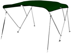 Msc 3 Bow Bimini Boat Top Cover With Rear Support Pole And Storage Boot Color 3