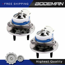 Pair Front Wheel Hub And Bearing For 2003-2007 Cadillac Cts Sts Uplander Relay 2wd