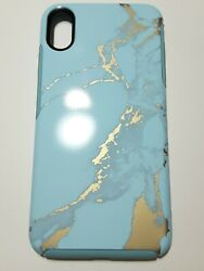 Otterbox Symmetry Case For Apple Iphone Xr - Teal Marble