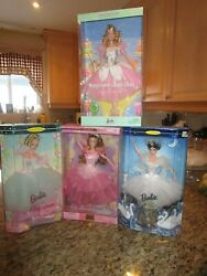 Lot Mixed 4 Collection Swan Lake Barbie Dolls More