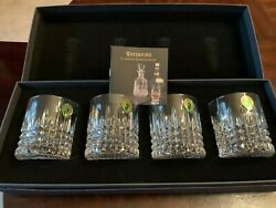 Waterford Crystal Lismore Diamond Tumbler/ Set Of 4/new In Box
