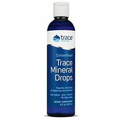 Trace Minerals Research - Concentrace Trace Mineral Drops - 8 Fl Oz Pack Of 1
