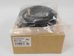 Kenwood Kct-22 Remote Control Cable For Commercial Two-way Radio New In Box