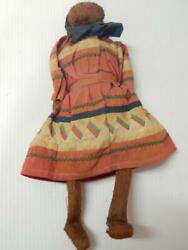 Very Early Antique Male Doll Seminole Indian Tribe Florida Vintage Miccosukie