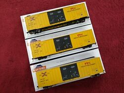 Athearn Rtr Ttx 60' Gunderson Boxcar 3 Pack / Set New Logo Kd's And More