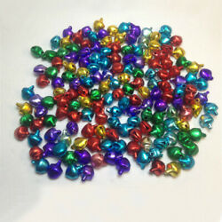 20/40 Colorful Jingle Christmas Bells Loose Beads Charms Jewelry Marking 10/12mm