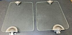 1930andrsquos Chevrolet Closed Car Draft Deflectors-wind Wings-tempered Glassset 4of4
