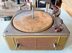 Vintage Webster Chicago 160-1 Turntable Phonograph Record Changer Player