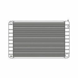 1991 For Gmc School Bus Chassis Radiator Plastic And Aluminum 10290pa